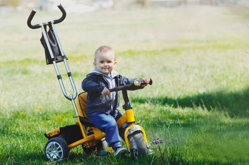 Babysicher Dreirad