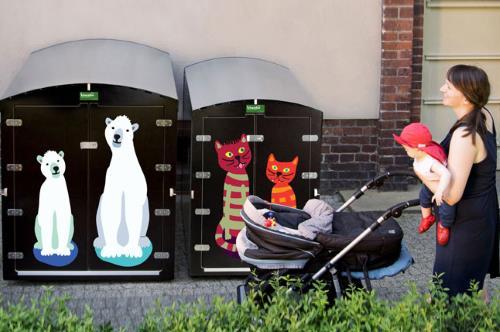Babysicher Garagenboxen