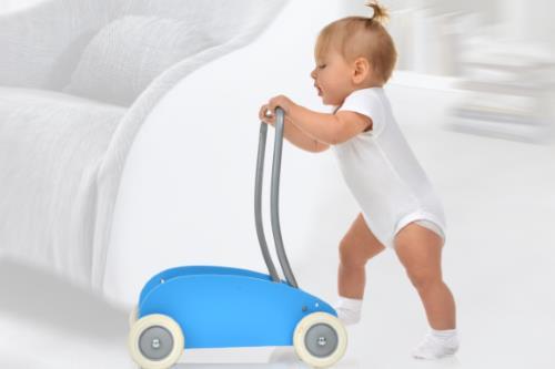 Babysicher Lauflernwagen