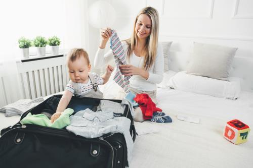 Babysicher Urlaub mit Baby