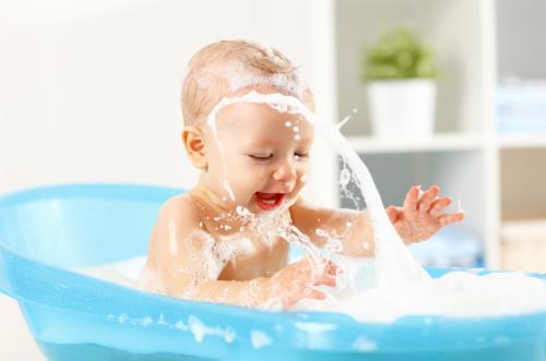 Babysicher Waschen