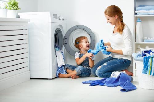 Babysicher Waschmaschine