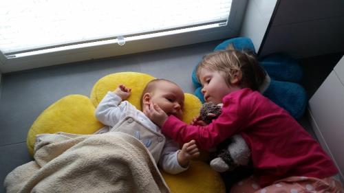 Amelie und Vincent Geschwisterliebe