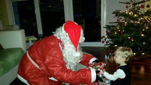 Babysicher Hanna und der Weihnachtsmann