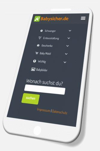 Babysicher.de mobil App